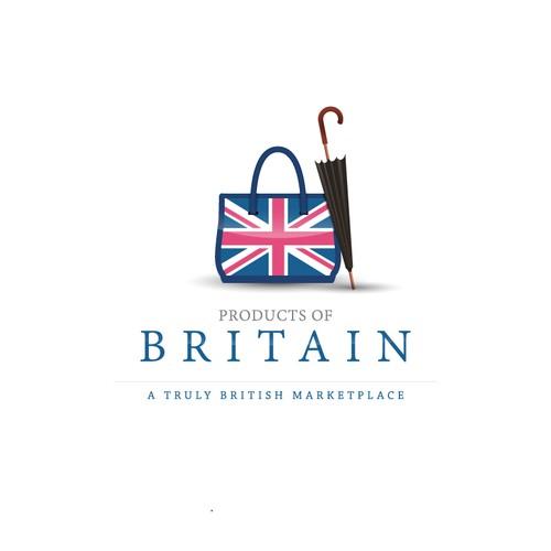 British product marketplace needing a professional logo