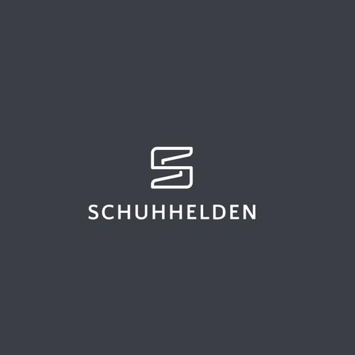 for sale ''S shoes'' schuhhelden logo concept