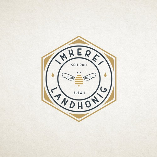 logo for Imkerei Landhonig