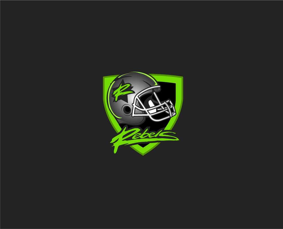 Modern and Fresh Sportslogo American Football