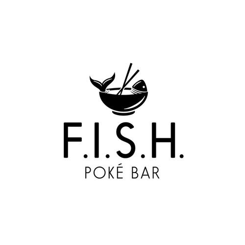Logo Concept for F.I.S.H. Poke Bar