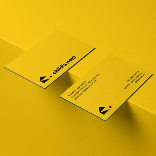 Business Card Template - Child's Nest