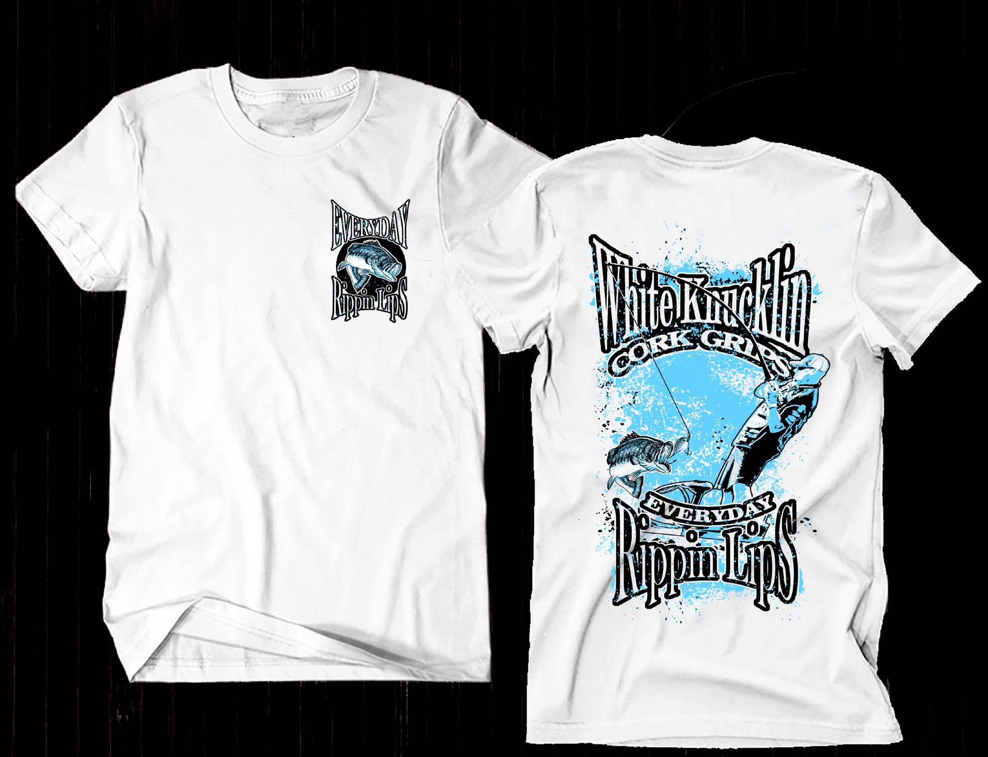 Create Designer Bass Fishing T-Shirt