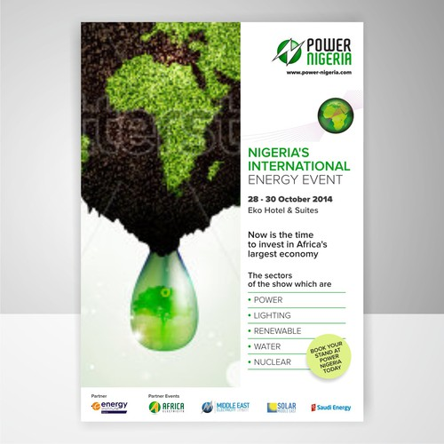 Create an Advert for Nigerian Power exhibition