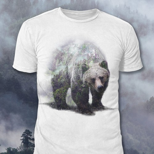 Overlay Bear Design