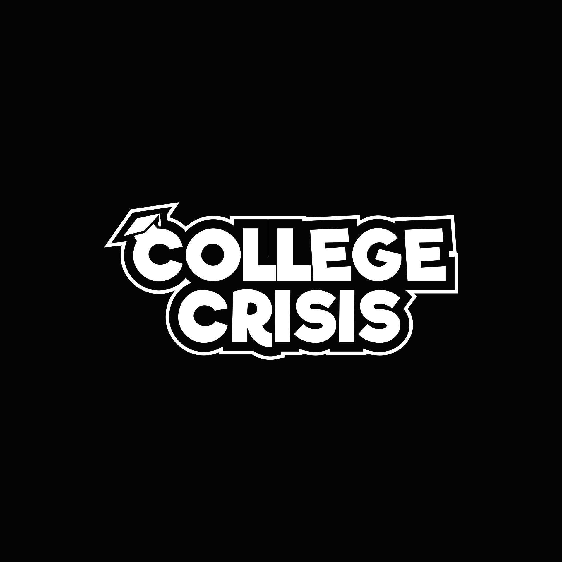 Design a slick and iconic logo for 'College Crisis' -  a fun party card game!