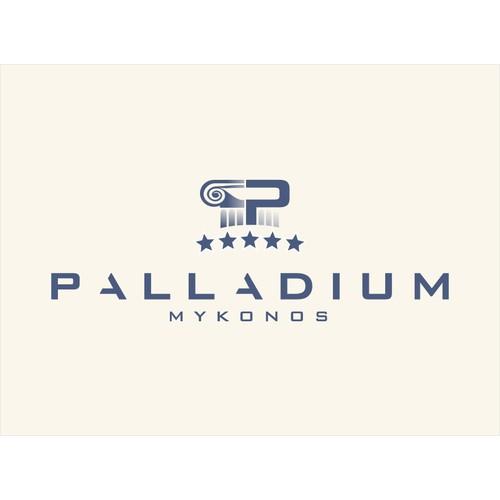 Palladium 5 stars Hotel in Mykonos needs a new logo