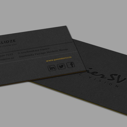 Business Card for a Marketing Agency
