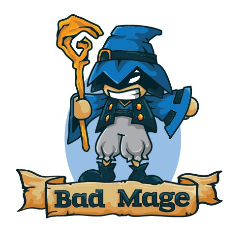 Cute Blue Mage