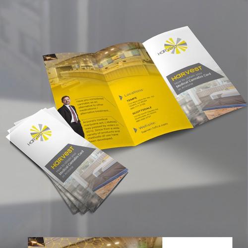 Brochure done for Harvest in Arizona