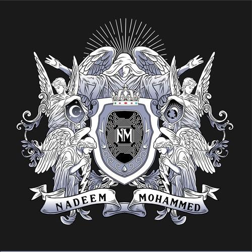 design powerful company crest