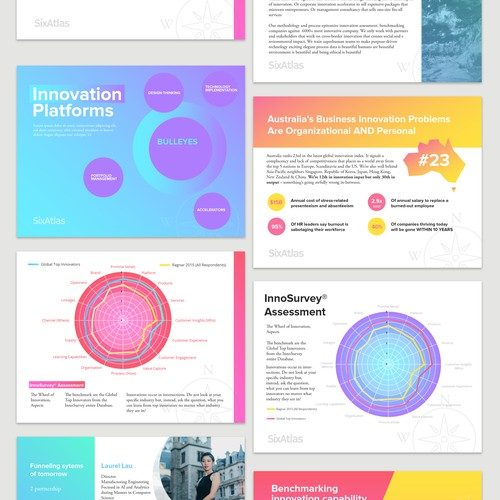 Colourful Business Presentation Template