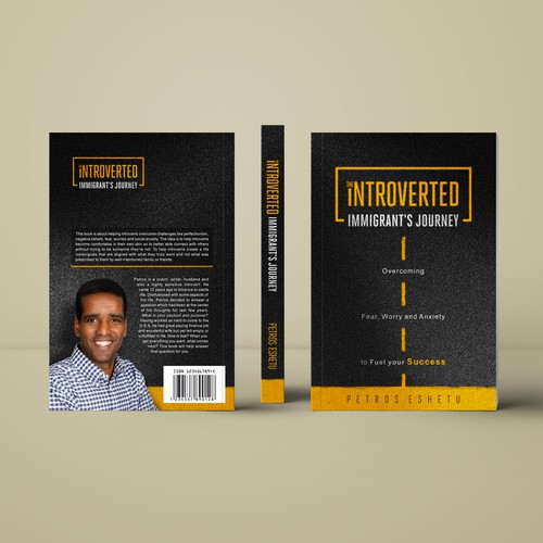 The Introverted Immigrant's Journey: Book Cover