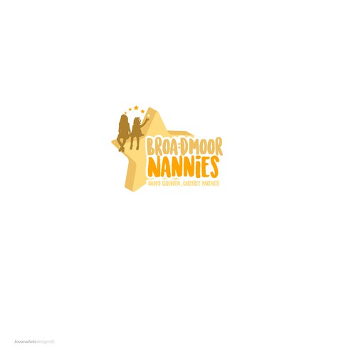 Fun logo for Nannies agency