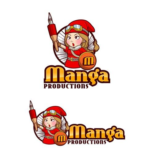 Logo for animation studio