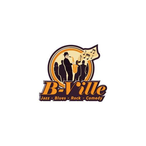 Logo for jazz/blues Nightclub