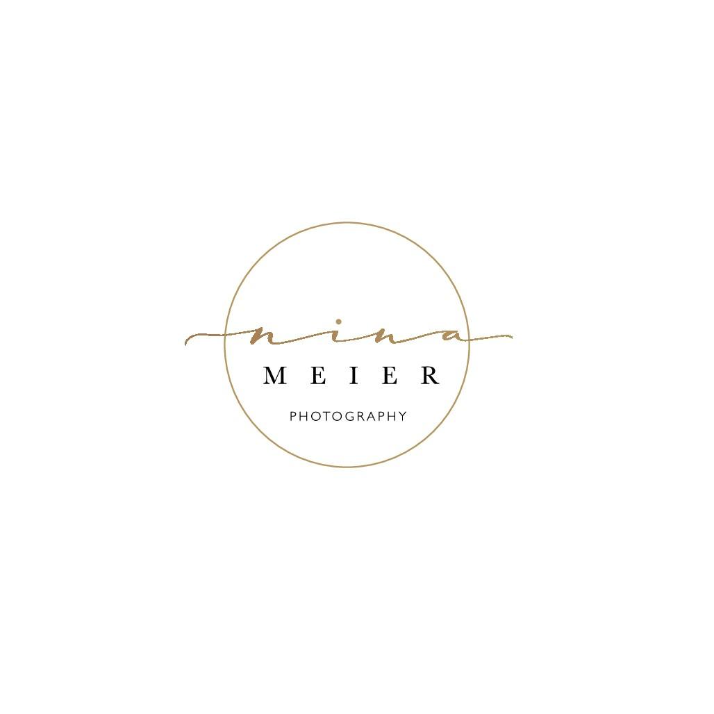 Simple Artsy Logo for Nina Meier Photography