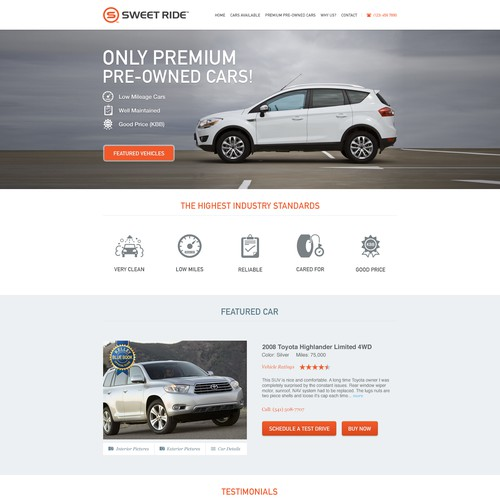 Car Dealer Website!