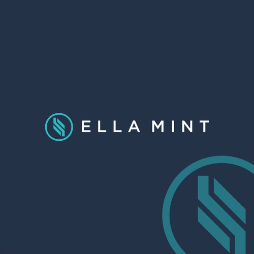 Logo concept for ELLA MINT