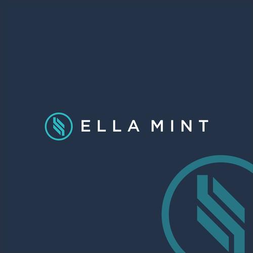 Logo concept for ELLA MINT