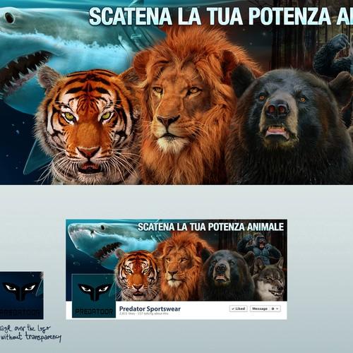 FB Cover for Predatoor sportswear