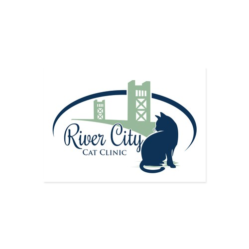 Cat clinic logo