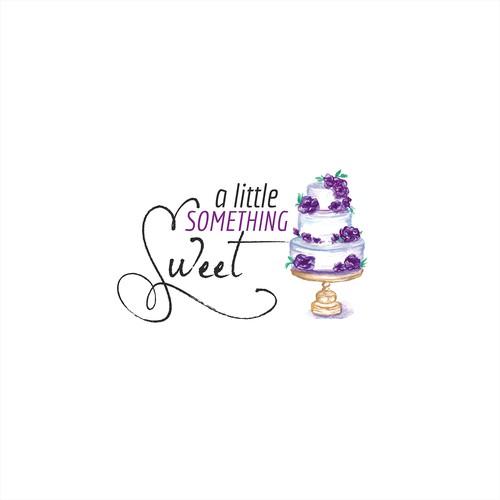 Logo design for hand made wedding cake company