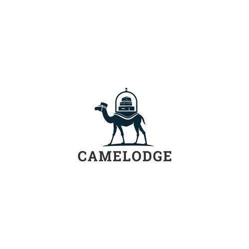 Camelodge logo concept