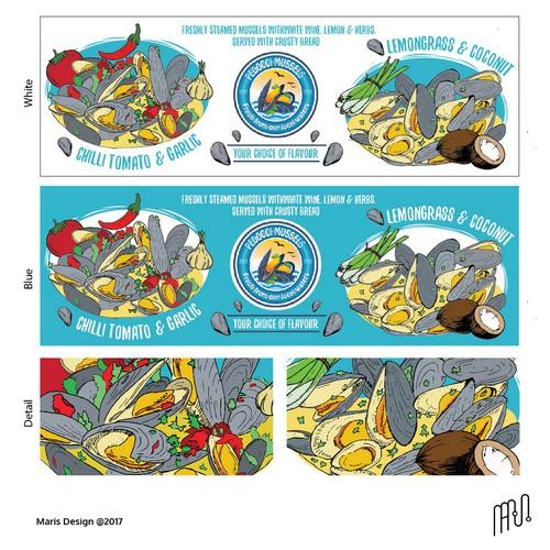 Signage pedocci mussels