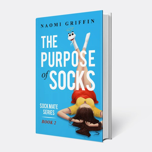 Book cover design for Naomi Griffin