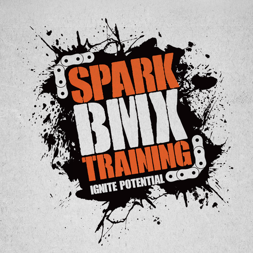 Create an eye catching logo for Spark BMX Training