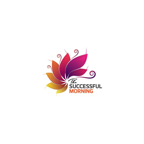 "An inspirational logo for ""The Successful Morning"""