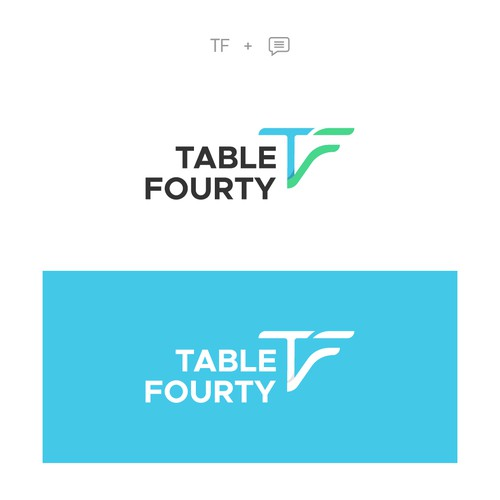 Table Fourty Logo Concept