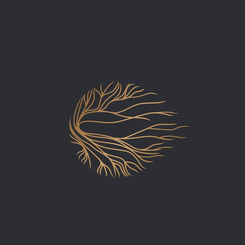 Elegant logo for Health & Wellness Therapy