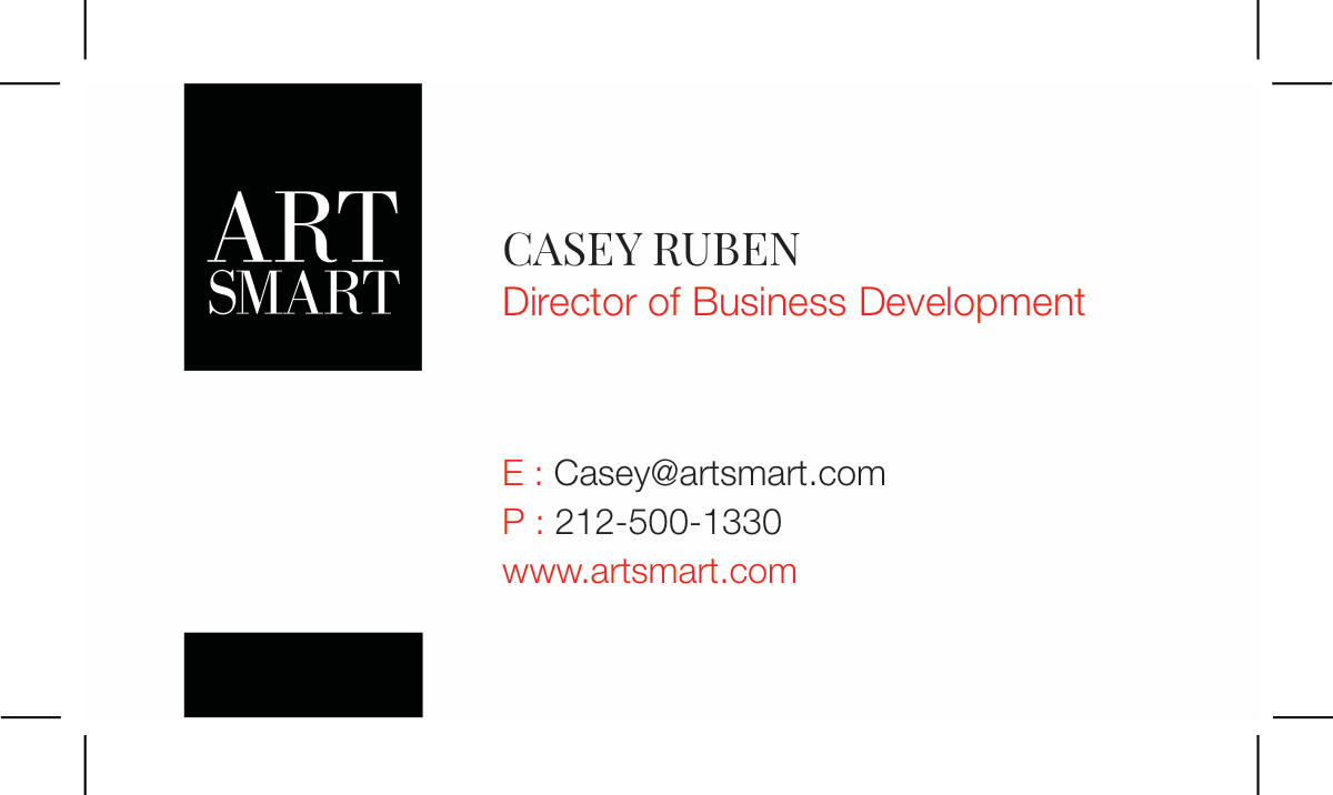 Two additional names for business cards