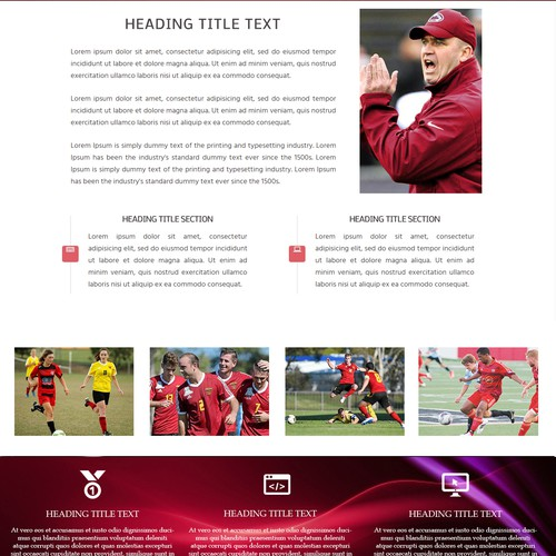 WEB SITE DESIGN - Footballers' Network