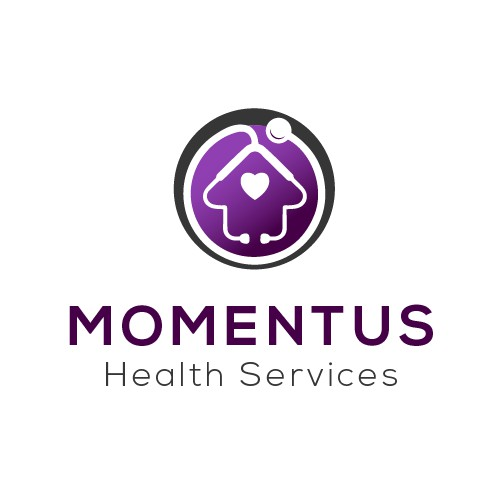 Momentus Health Services Logo design