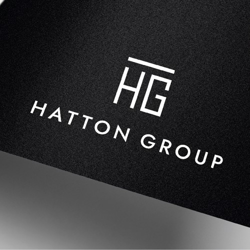 A sophisticated and minimalist logo for a corporate business company