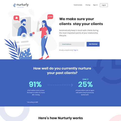 Nuturly web design
