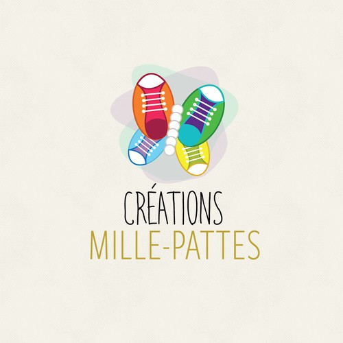 Creations Mille-Pattes Logo Design