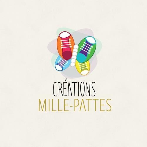 Creations Mille-Pattes Logo Design