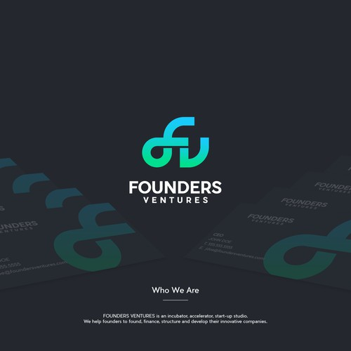 Young and Adventurous Logo Concept for Incubator Start-up