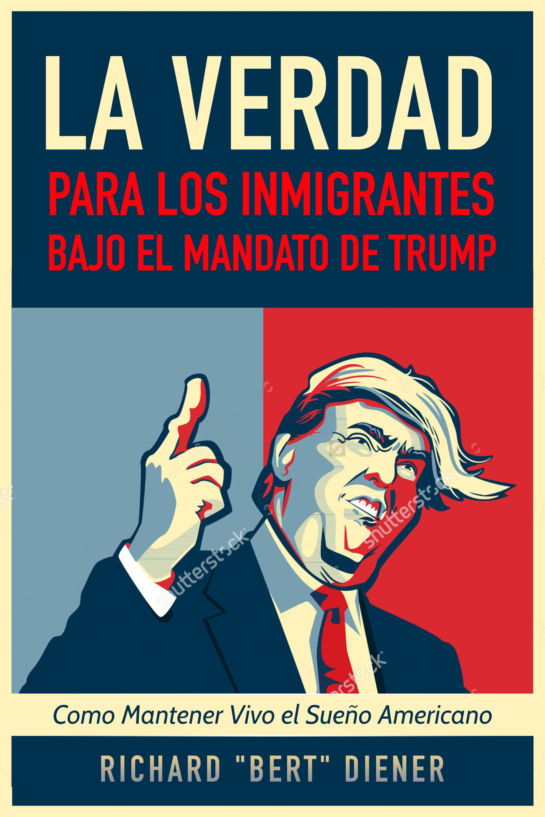 Book on Immigrants and TRUMP - Need a cover!