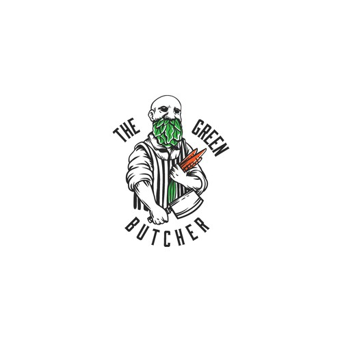 vegan butcher logo