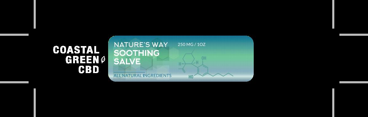 Label design for Nature's Way Pain Cream