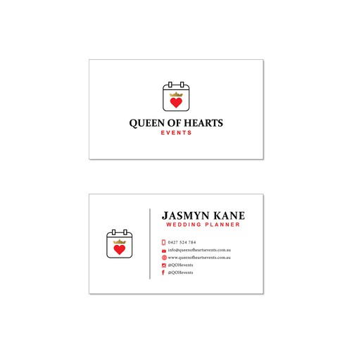QUEEN OF HEARTS EVENTS