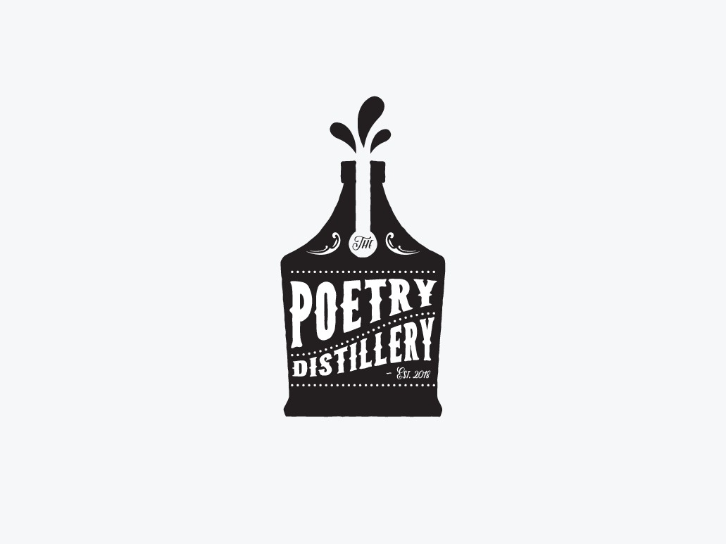 Design a logo for The Poetry Distillery