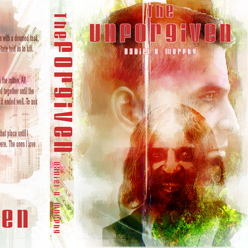 Book cover entry for Daniel Murphy's The Unforgiven.