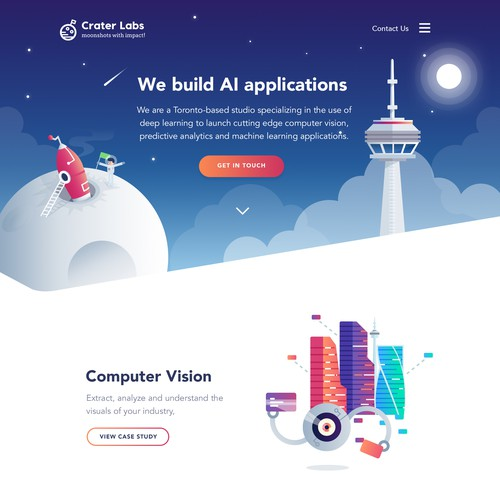 Craterlabs Creative Website
