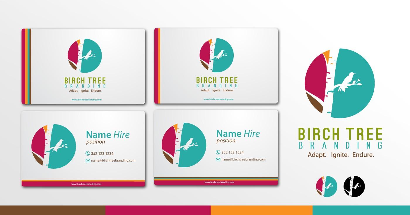 Birch Tree Branding needs a new logo and business card